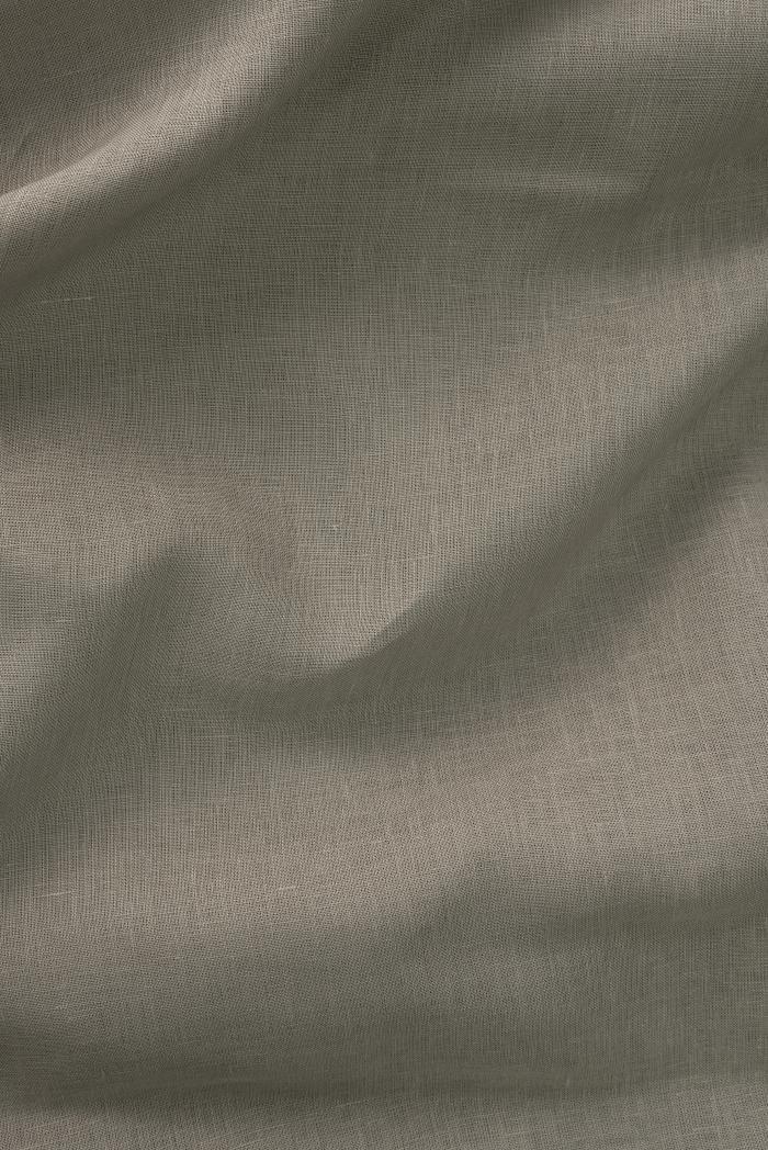 Ткань для постельного белья лен 100 серый камень фото 3>                   <span class=
