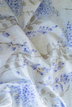 Ткань для постельного белья п лен гортензия фото 1