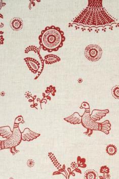 Ткань для постельного белья п лен гуси лебеди фото 1