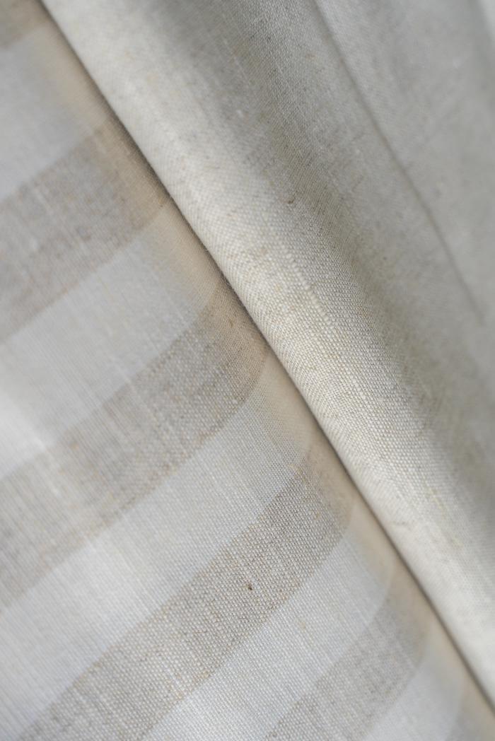 Ткань для постельного белья п лен полоска бежевая фото 2>                   <span class=
