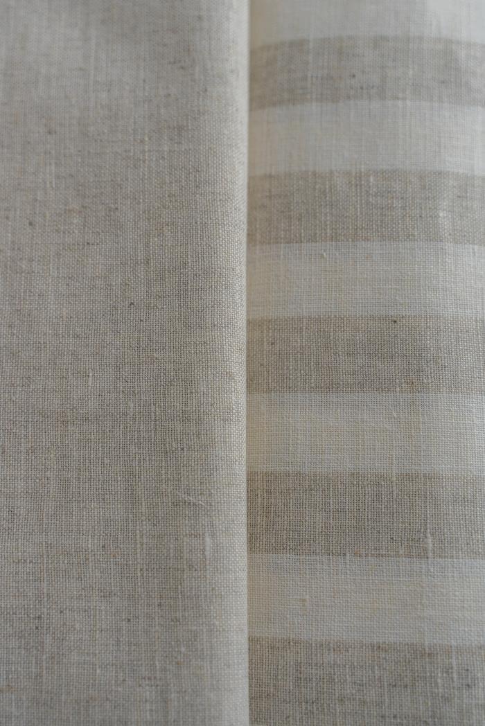 Ткань для постельного белья п лен полоска бежевая фото 5>                   <span class=