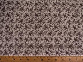 Ткань для постельного белья п лен птицы коричневые фото 2>                   <span class=