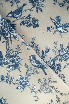 Ткань для постельного белья п лен райский сад фото 1
