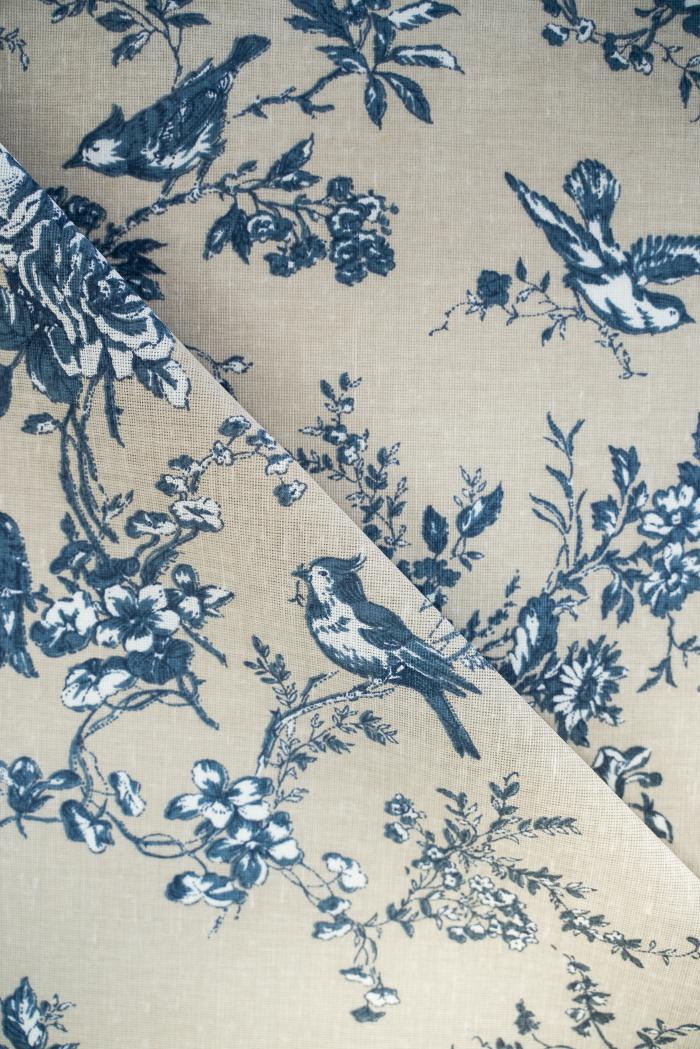 Ткань для постельного белья п лен райский сад фото 1>                   <span class=