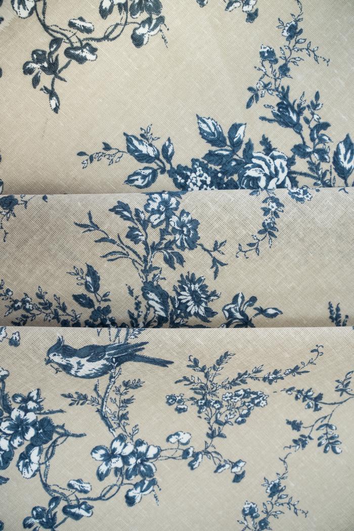 Ткань для постельного белья п лен райский сад фото 3>                   <span class=