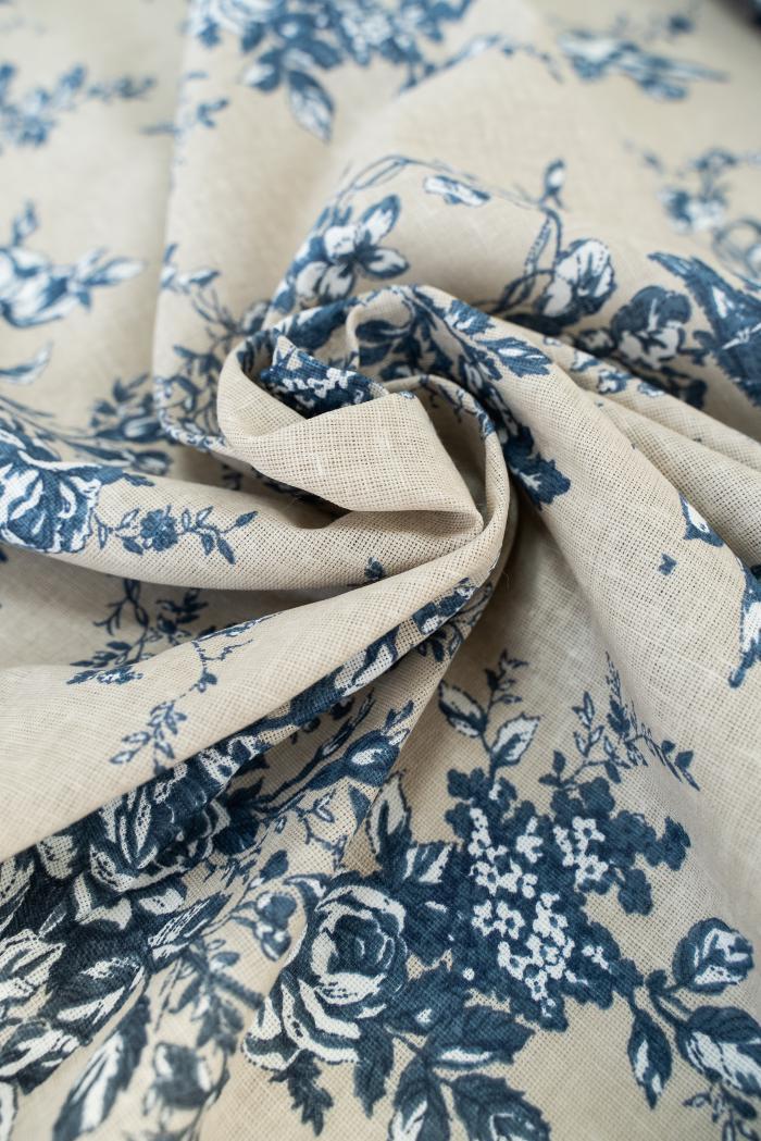 Ткань для постельного белья п лен райский сад фото 5>                   <span class=