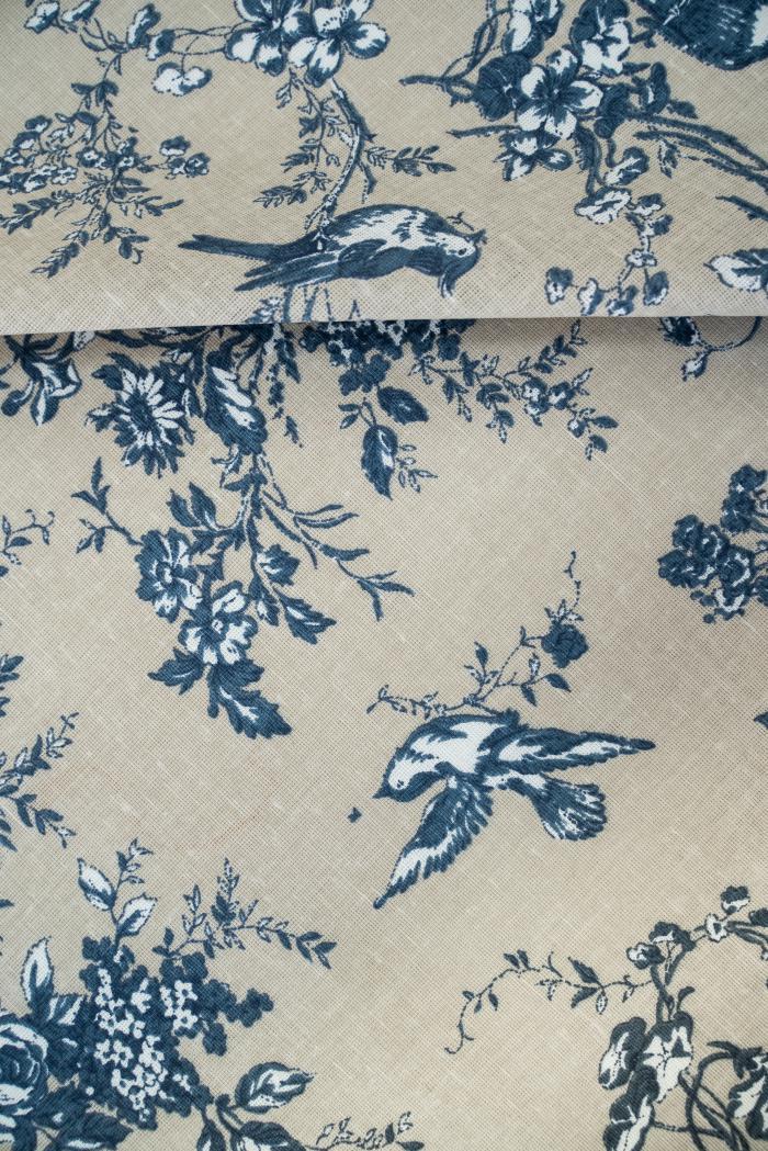 Ткань для постельного белья п лен райский сад фото 6>                   <span class=