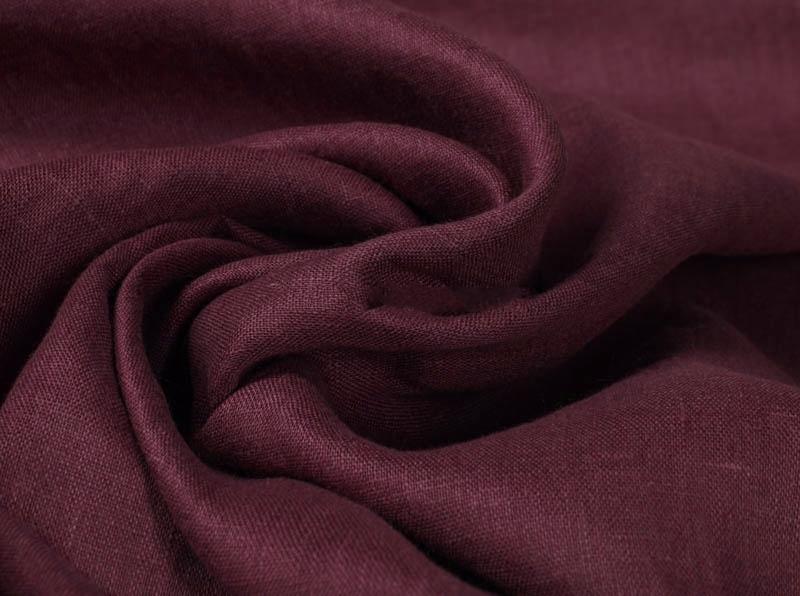 Ткань костюмная лен 100 сочная слива фото 1>                   <span class=