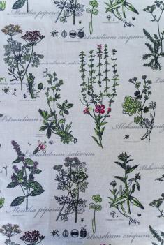 Ткань декоративная п лен ботаника фото 1