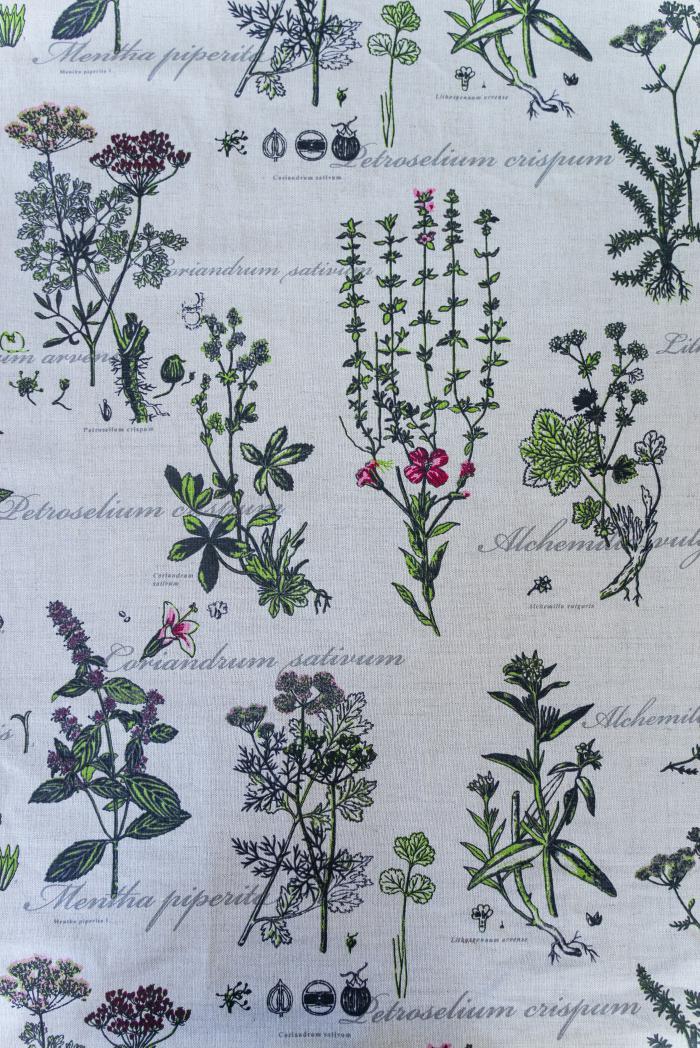 Ткань декоративная п лен ботаника фото 1>                   <span class=