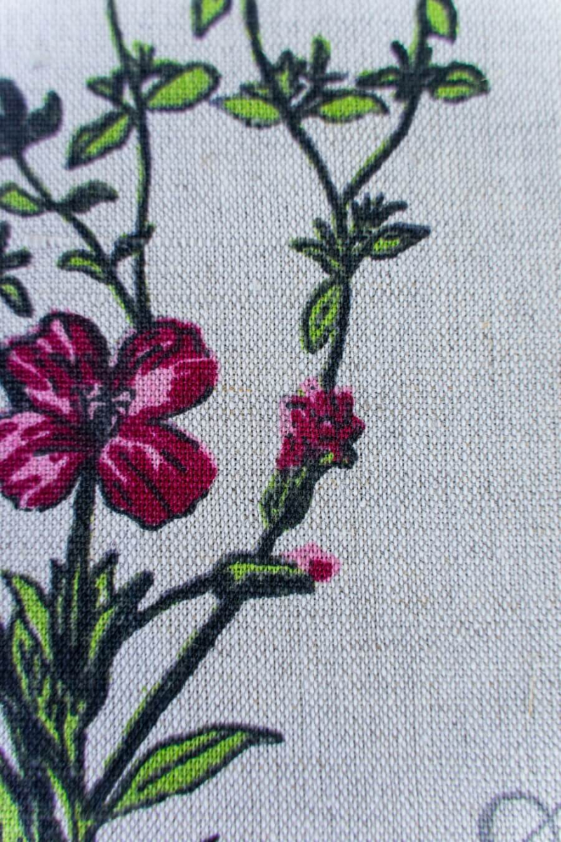Ткань декоративная п лен ботаника фото 3>                   <span class=
