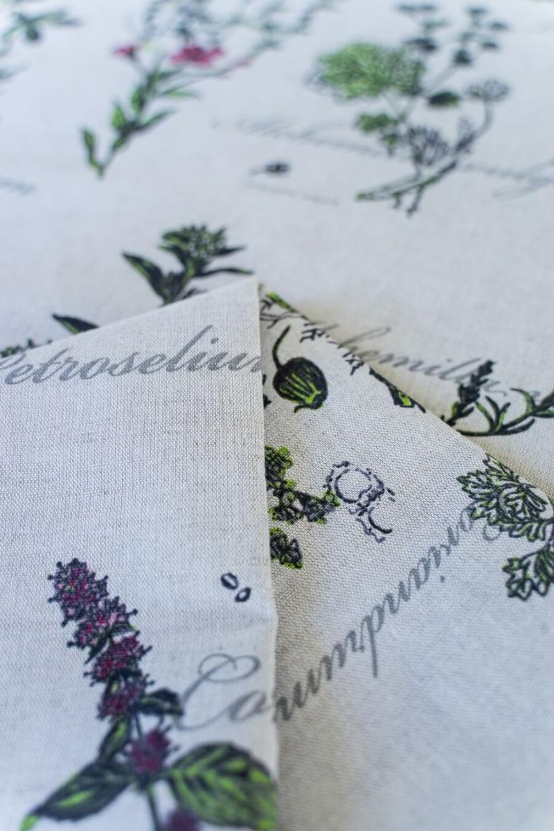 Ткань декоративная п лен ботаника фото 4>                   <span class=