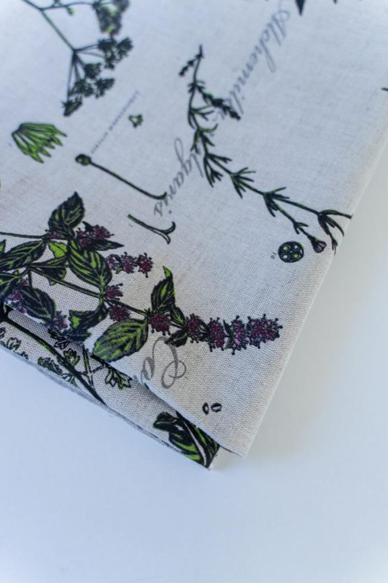 Ткань декоративная п лен ботаника фото 5>                   <span class=