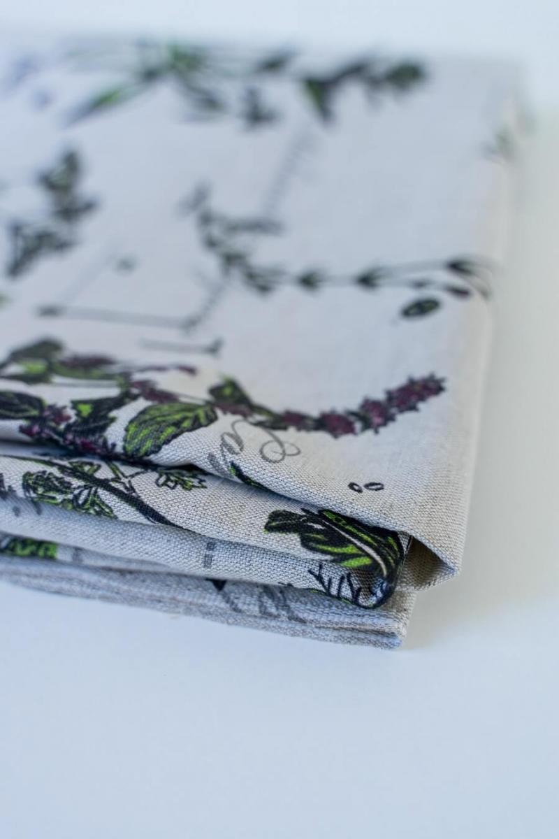 Ткань декоративная п лен ботаника фото 6>                   <span class=