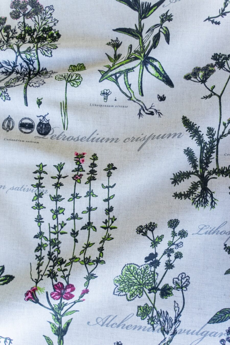 Ткань декоративная п лен ботаника фото 7>                   <span class=