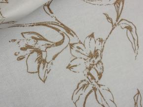 Ткань декоративная п лен шведская роза фото 3>                   <span class=