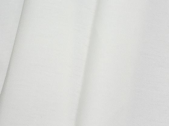 Ткань костюмная лен 100 белая роза фото 1>                   <span class=