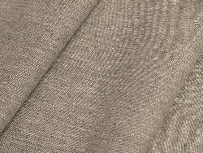 Ткань костюмная лен 100 бежевый меланж фото 1>                   <span class=