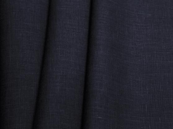 Ткань костюмная лен 100 черничное поле фото 1>                   <span class=