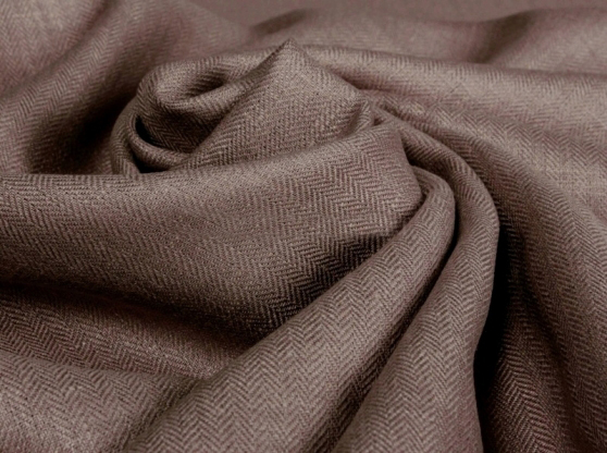 Ткань костюмная лен 100 елочка какао фото 1>                   <span class=