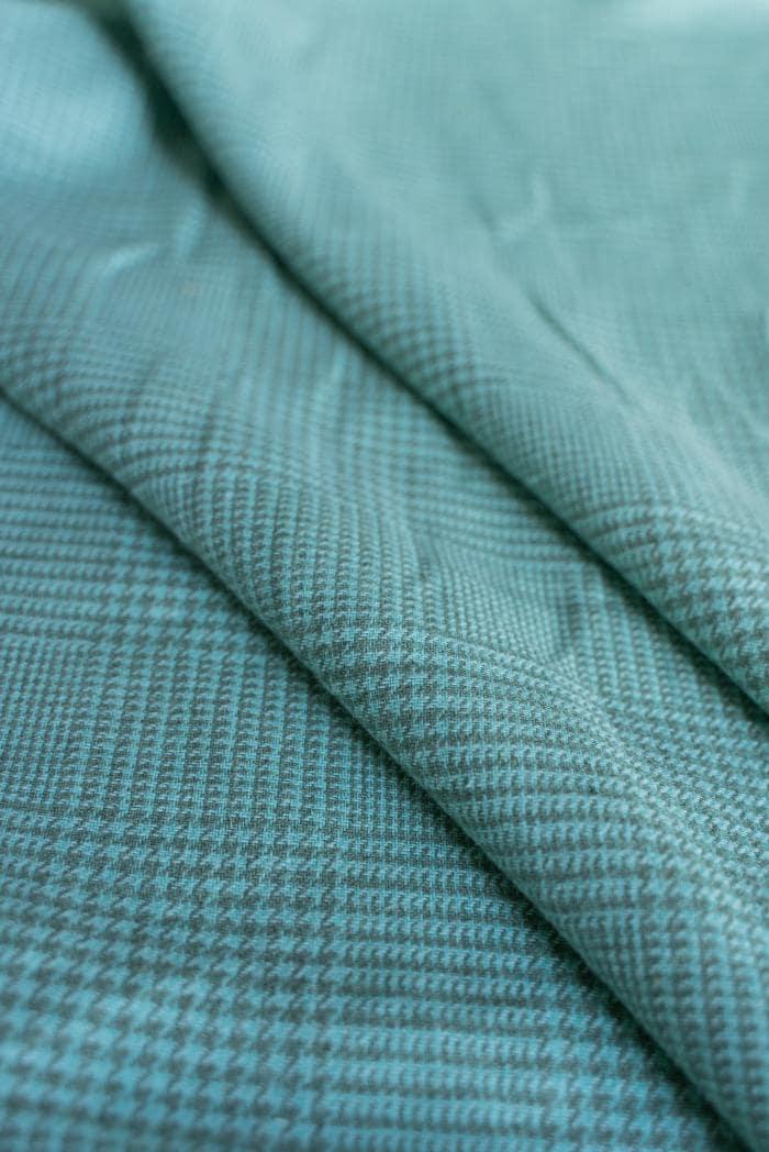 Ткань костюмная лен 100 гусиная лапка клетка фото 4>                   <span class=