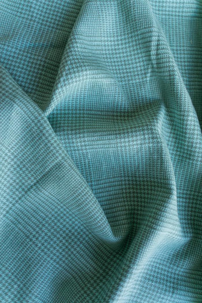 Ткань костюмная лен 100 гусиная лапка клетка фото 5>                   <span class=