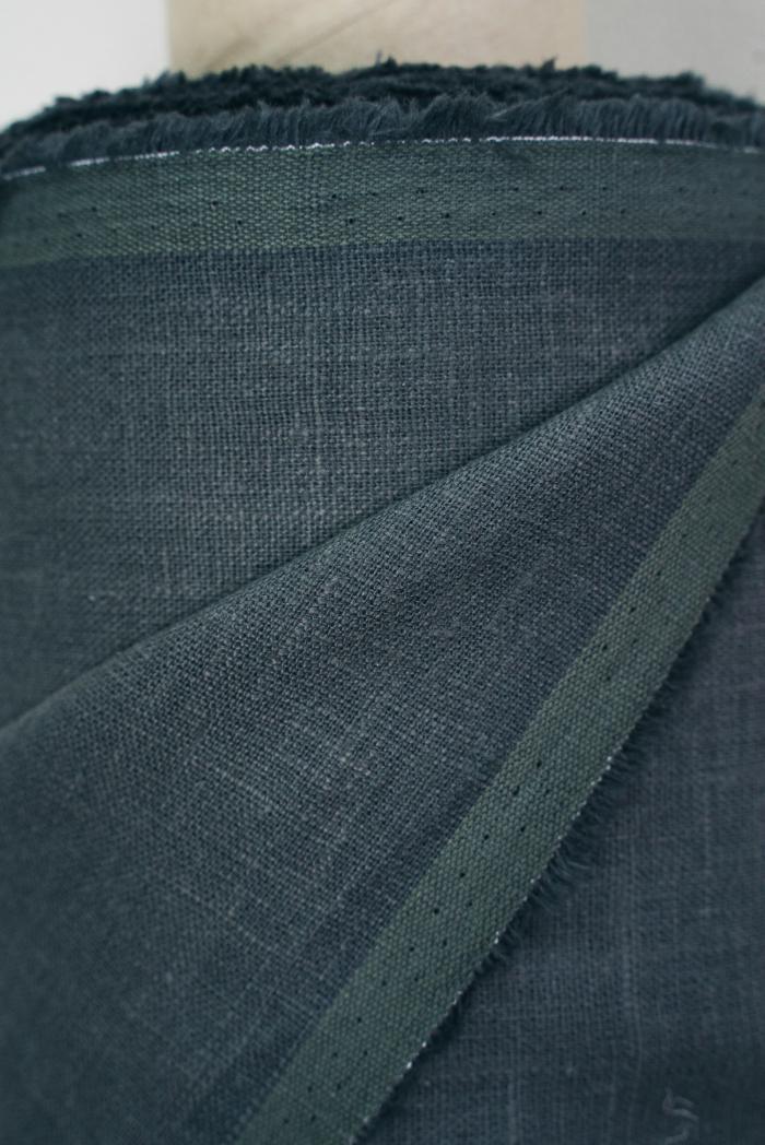Ткань костюмная лен 100 мокрый камень фото 2>                   <span class=