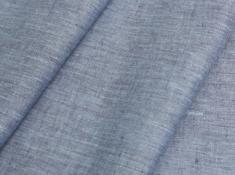 Ткань костюмная лен 100 пролеска фото 1