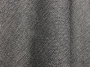Ткань костюмная лен 100 серая елочка фото 3>                   <span class=