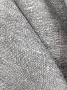 Ткань костюмная лен 100 серый меланж фото 1