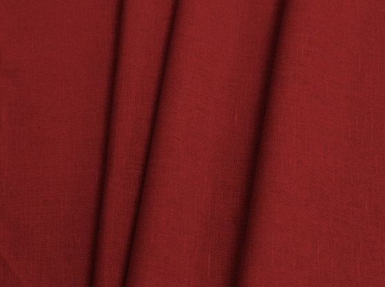 Ткань костюмная лен 100 спелая клюква фото 1>                   <span class=