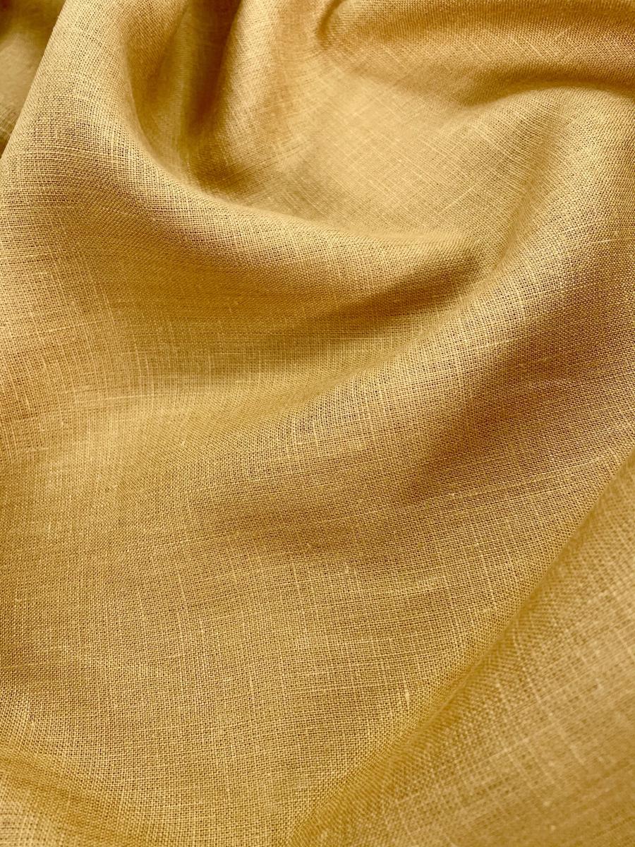 Ткань костюмная лен 100 спелая рожь фото 1>                   <span class=