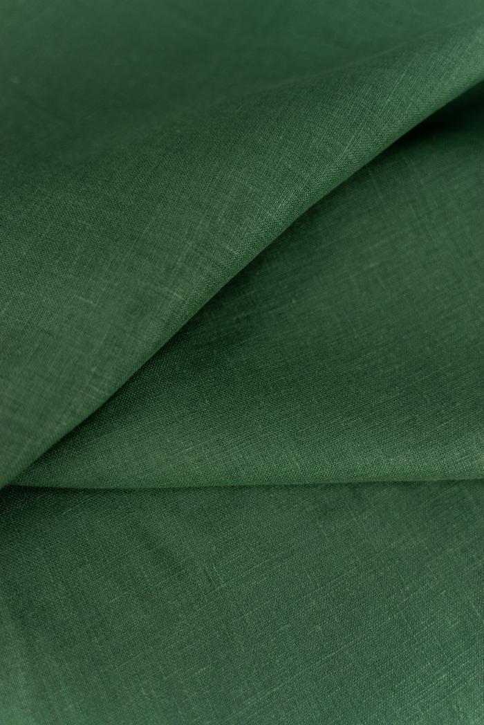 Ткань костюмная лен 100 травяной фото 3>                   <span class=