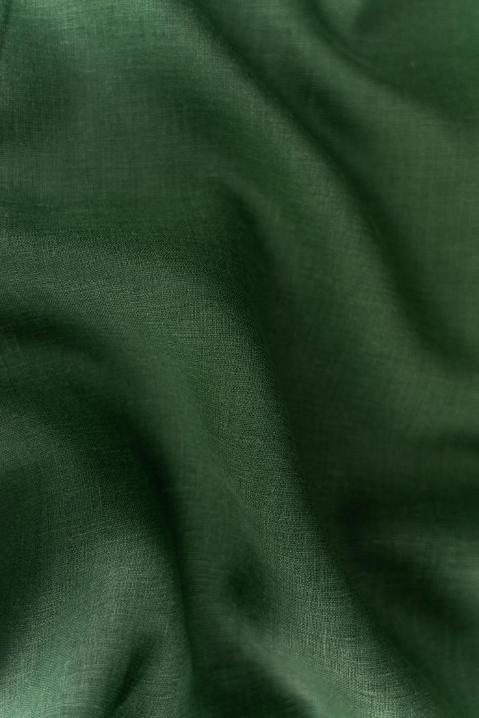 Ткань костюмная лен 100 травяной фото 4>                   <span class=