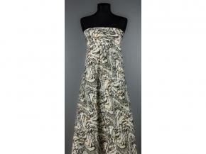 Ткань костюмная лен 100 виньетка фото 2>                   <span class=