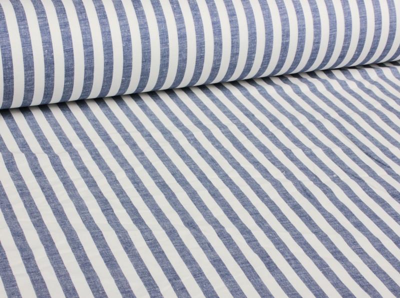 Ткань костюмная п лен морская полоска фото 3>                   <span class=