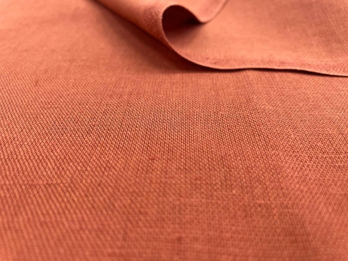 Ткань костюмная п лен терракот фото 1>                   <span class=
