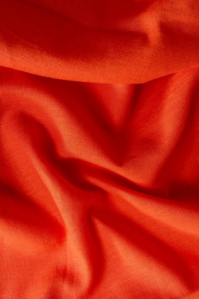 Ткань костюмная п лен тыква фото 4>                   <span class=