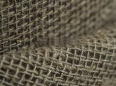 Ткань мешочная лен 100 льняные нити фото 1