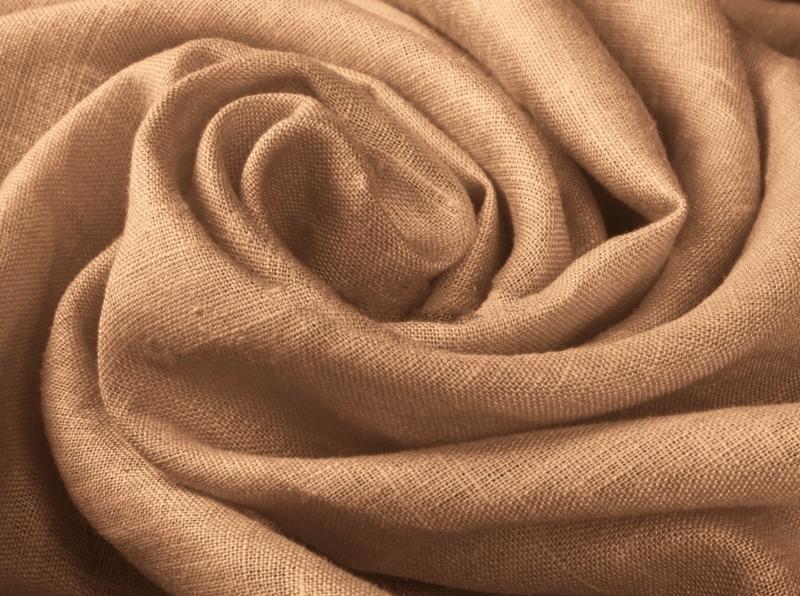 Ткань костюмная лен 100 медное сияние фото 1>                   <span class=