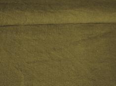 Ткань с эффектом мятости лен 100 аир болотный фото 1