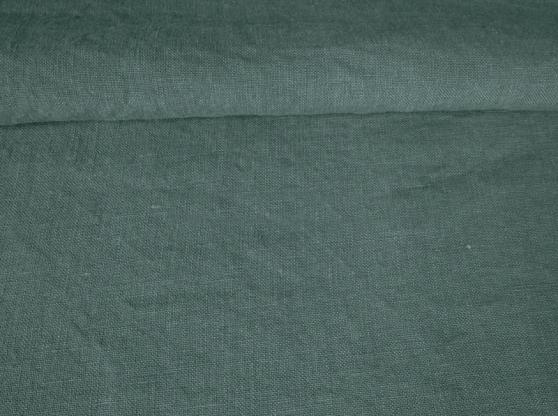Ткань с эффектом мятости лен 100 кипарис фото 1>                   <span class=