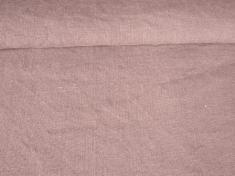 Ткань с эффектом мятости лен 100 лаванда фото 1