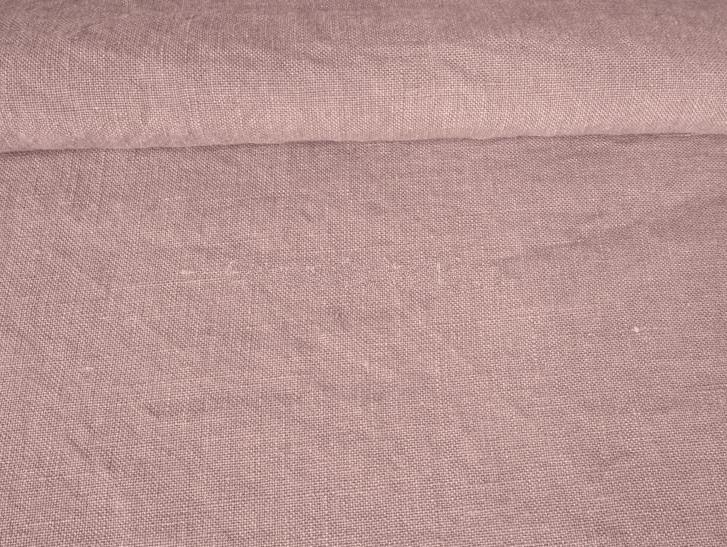 Ткань с эффектом мятости лен 100 лаванда фото 1>                   <span class=