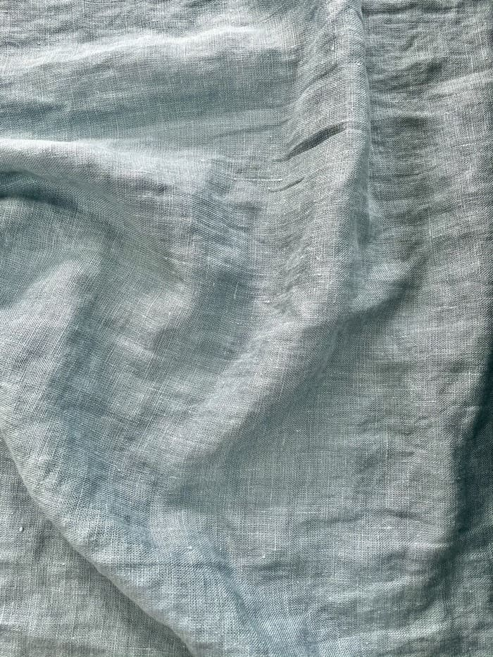 Ткань с эффектом мятости лен 100 летний ветер крэш фото 2>                   <span class=