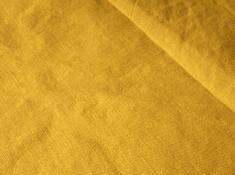 Ткань с эффектом мятости лен 100 пижма фото 1