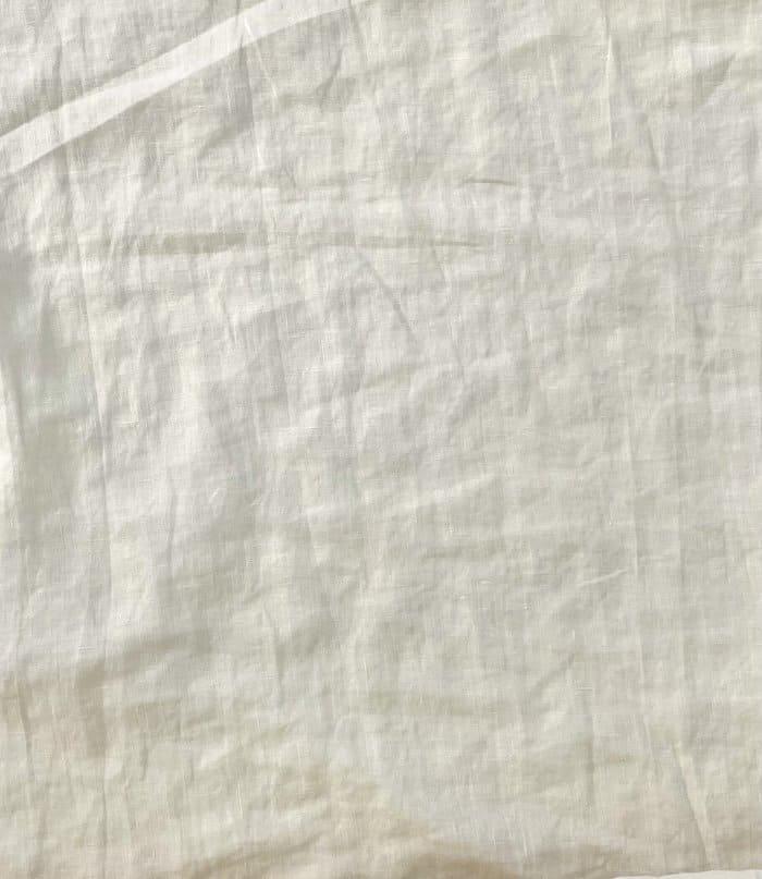 Ткань с эффектом мятости лен 100 пломбир фото 2>                   <span class=