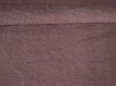 Ткань с эффектом мятости лен 100 сиреневый вереск фото 1
