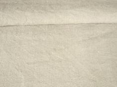 Ткань с эффектом мятости лен 100 туманный серый фото 1