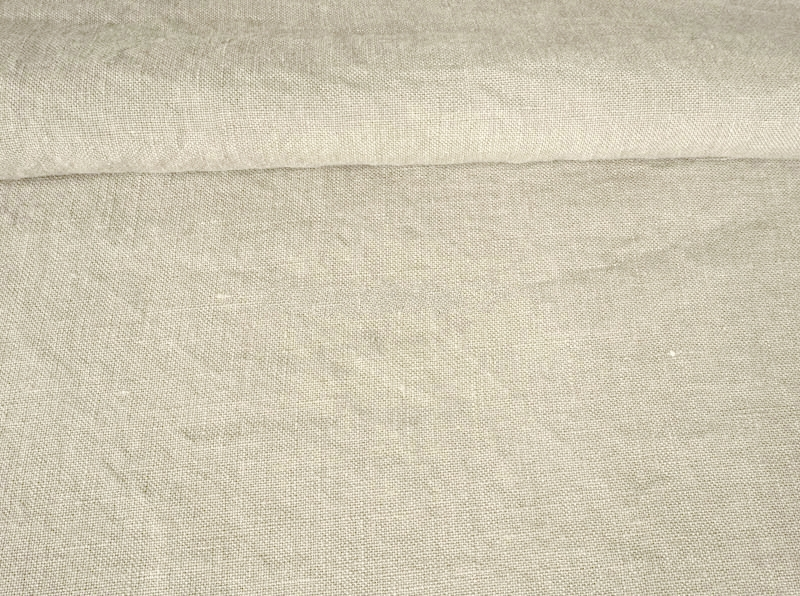 Ткань с эффектом мятости лен 100 туманный серый фото 1>                   <span class=
